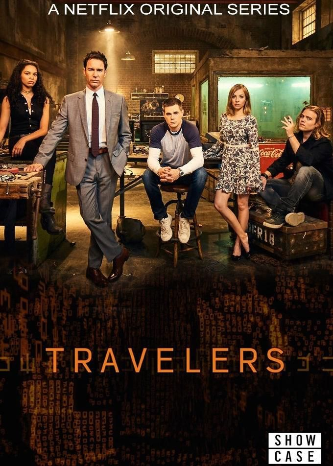 Travelers Netflix Series Poster Tv Pinterest Serien Und Tv Serien