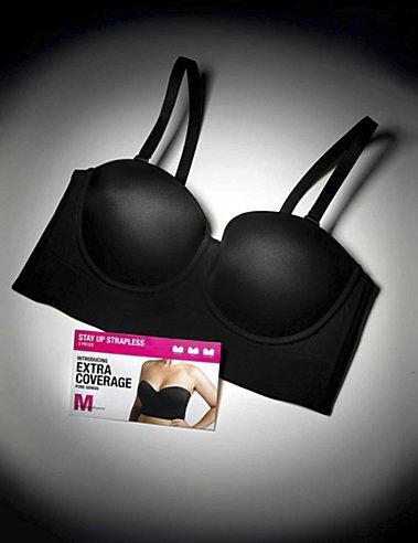 how to make a strapless bra stay up