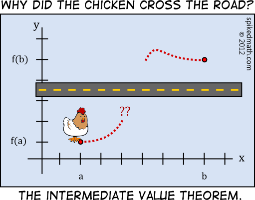 Chicken Jokes One Liners: Damn It Chicken, You Just Violated The Vertical Line Test