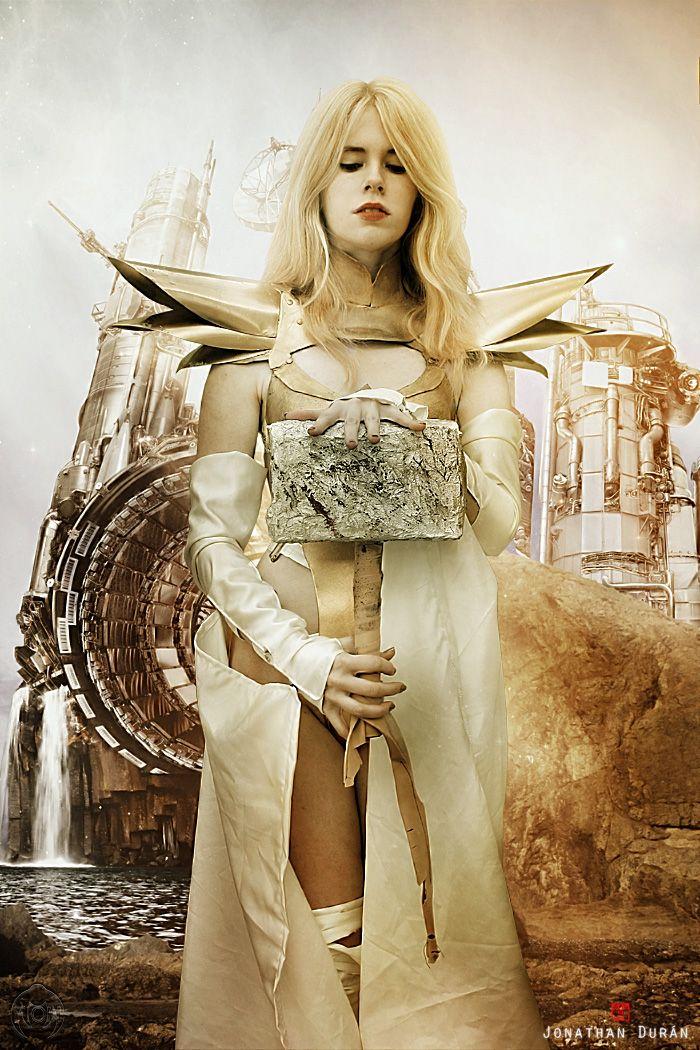 Emma frost phoenix cosplay