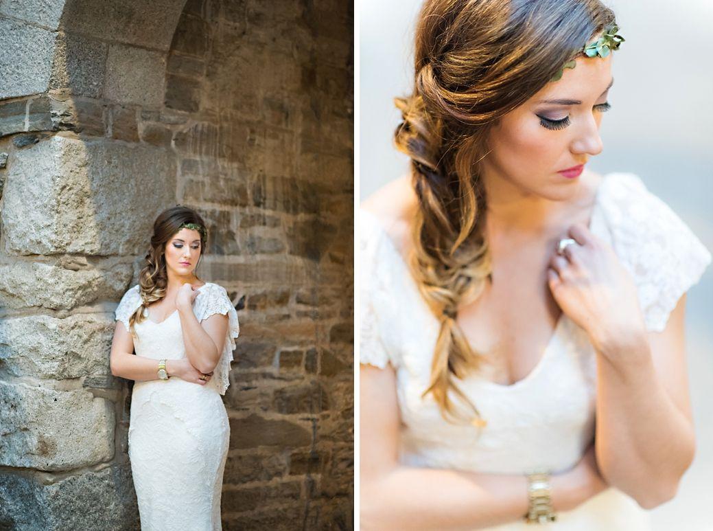 side braid - bridal hair by jessica fletcher | hair by