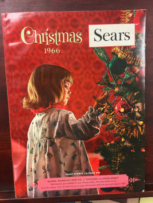 Christmas Catalogs.The Return Of The Sear S Wish Book Your Ancestor S World