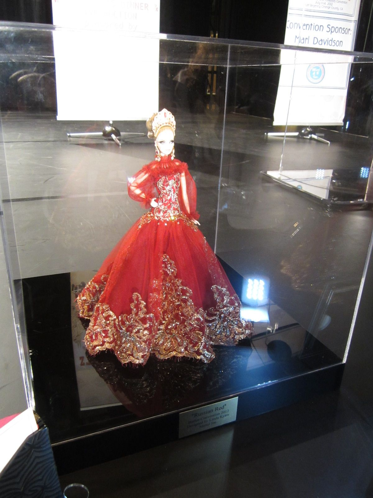 Mattel Designer Doll for charity auction at convention - stunning!