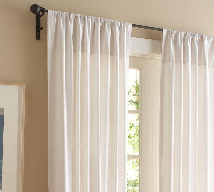 Cortina simples para salas cortinas pinterest for Modelos de cortinas modernas