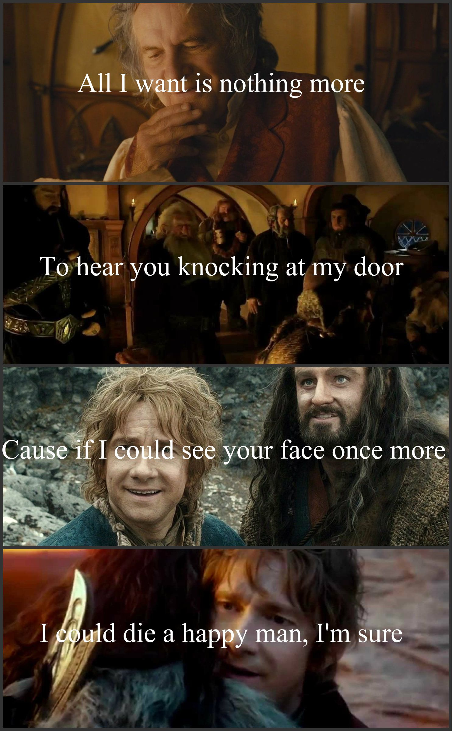 All I Want By Kodaline Lyrics For The Hobbit This Breaks My