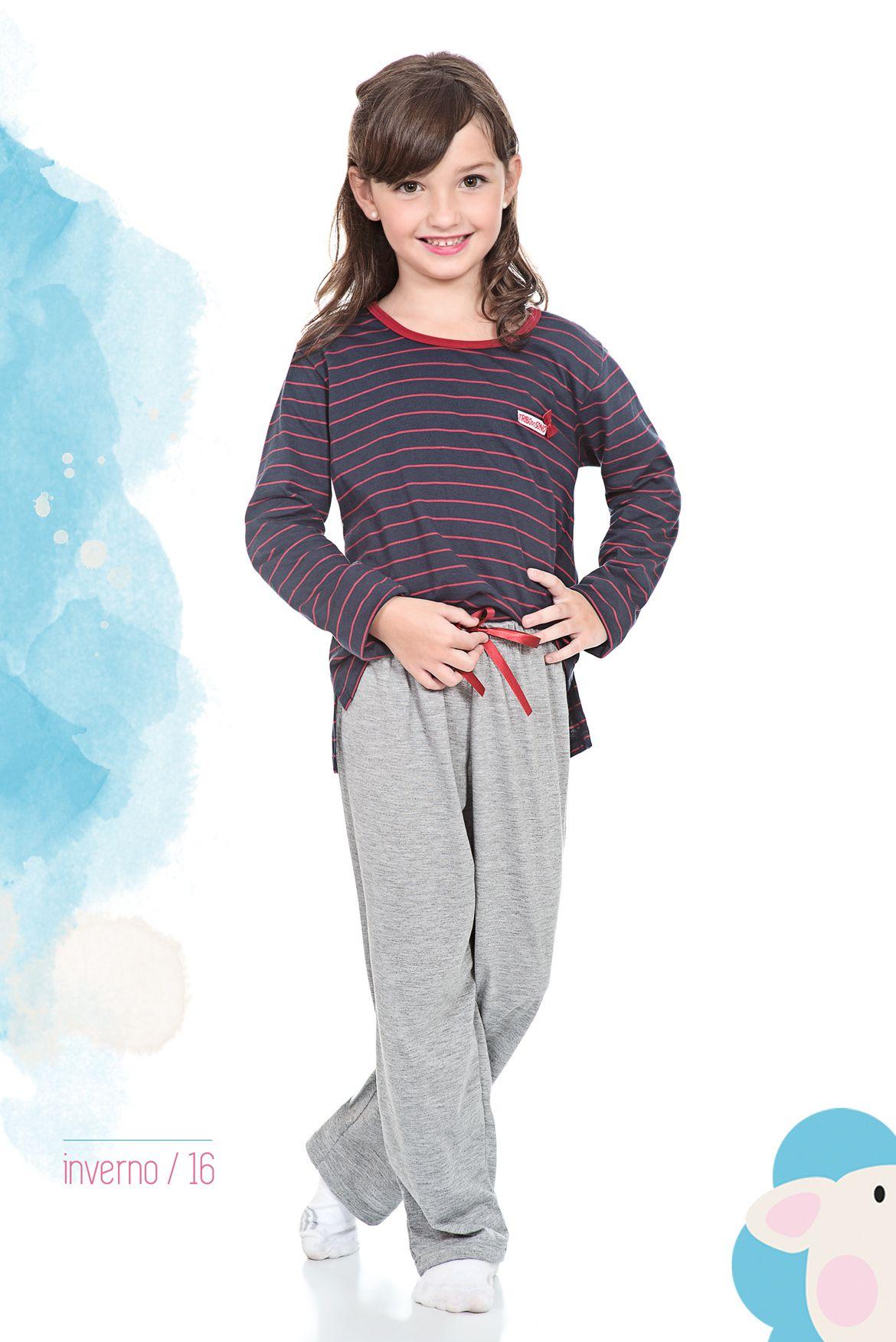 Pijama inverno, infantil, feminino, sleepwear.