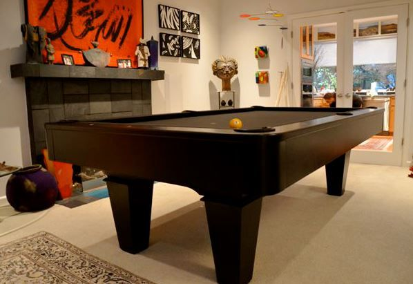 Golden West Maddox Pool Table With Contemporary Rails And Aprons