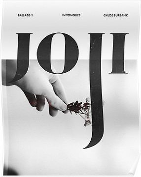 Joji - Discography Poster Poster | Products | Bedroom