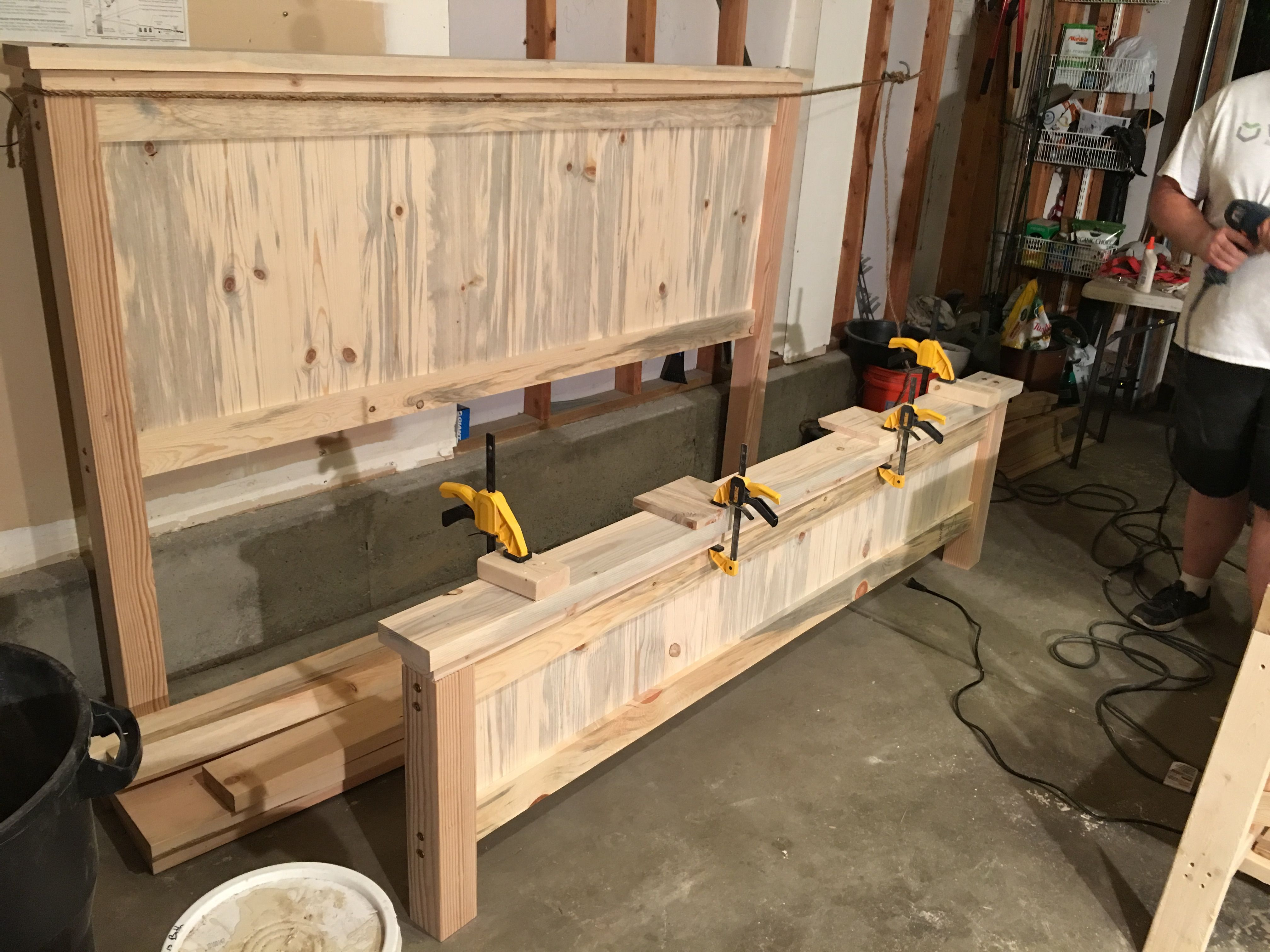 King Size Bed Frame Diy Canopy