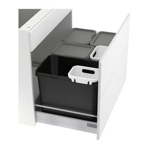 Meubles Et Accessoires Poubelle Tri Armoire Ikea Et