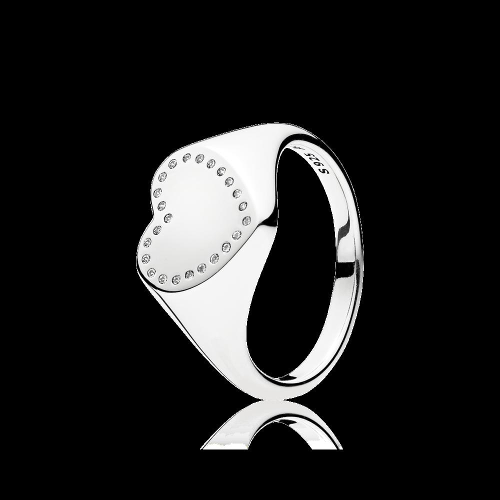 anello donna pandora cuore