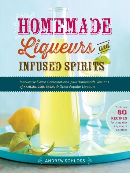 An Infused Liquor Recipe, the Perfect Gift #homemade101