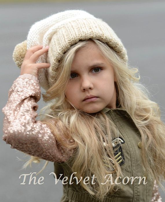 KNITTING PATTERN Beau Slouchy Toddler Child and Adult | Crochet y ...
