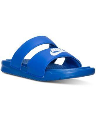 wholesale dealer 0ef6d 04a0e Nike Benassi Duo Ultra Slide - Women s - Shoes ( 75) ❤ liked on Polyvore  featuring shoes, nike shoes, nike and nike footwear   My Polyvore Finds    Nike ...