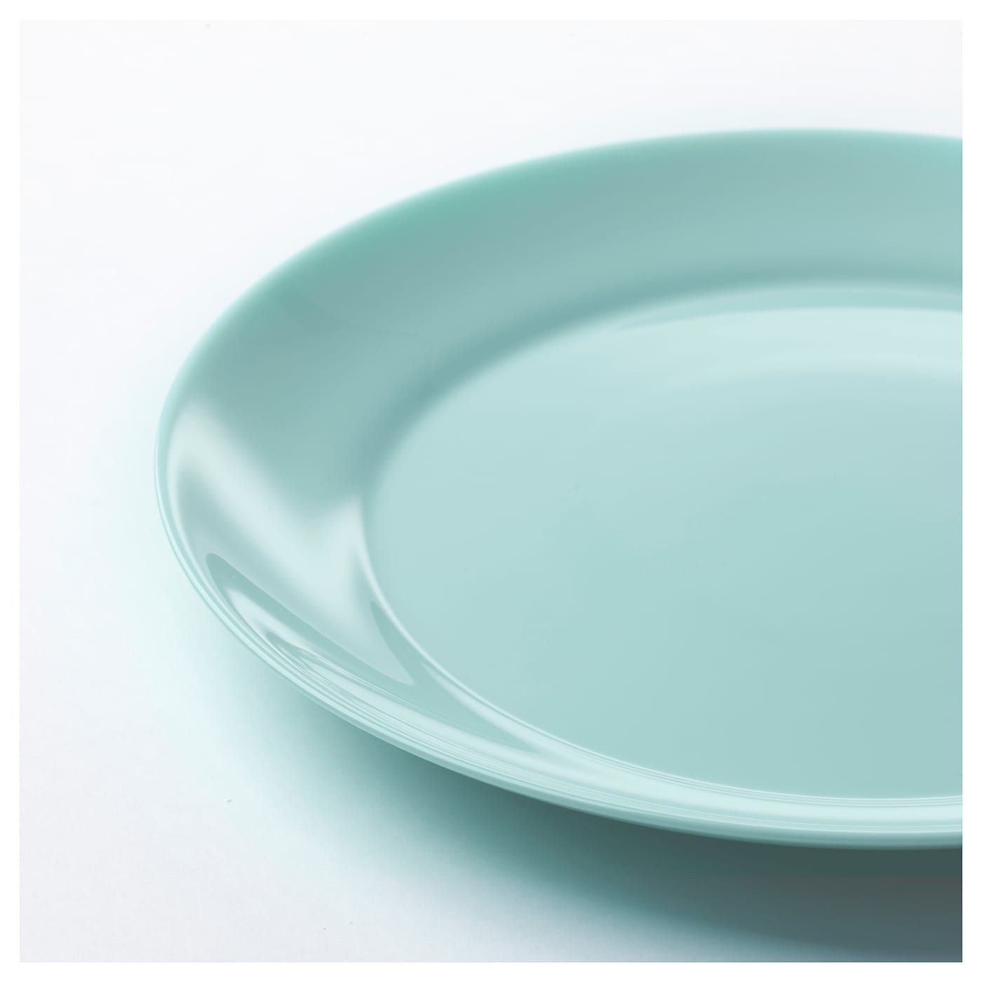 """Nettoyer Interieur Lave Vaisselle besegra side plate - light turquoise 8 """" (21 cm) 