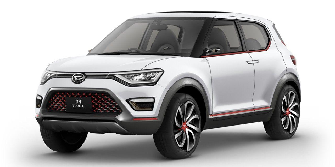 Daihatsu Dn Trec Dn Multisix Concepts Coming To Tokyo Motor Show Daihatsu Compact Suv Toyota Suv