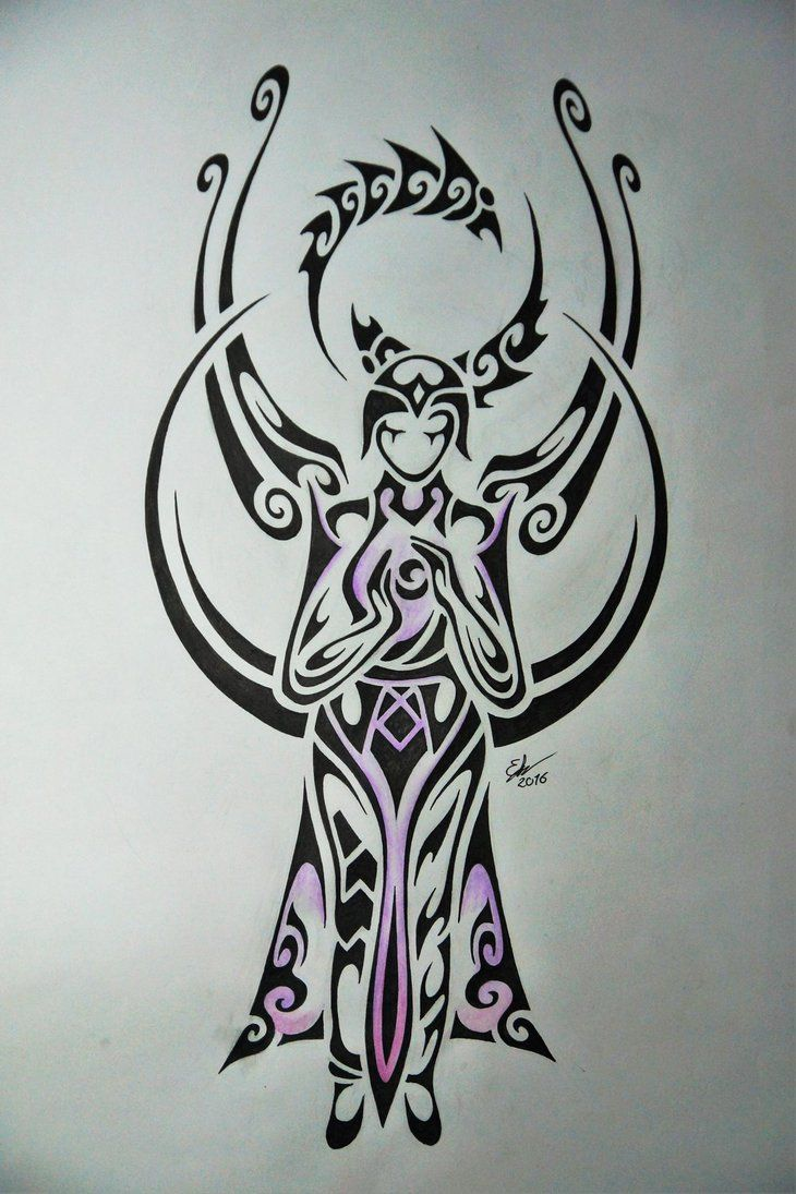 tribal design of karma league of legends art pinterest karma and anime. Black Bedroom Furniture Sets. Home Design Ideas