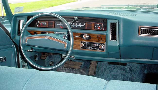1976 Caprice Classic Coupe | Classic Car Interiors ...