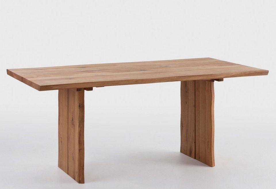 SCHÖSSWENDER Esstisch »Oviedo«, 4 cm starke Tischplatte