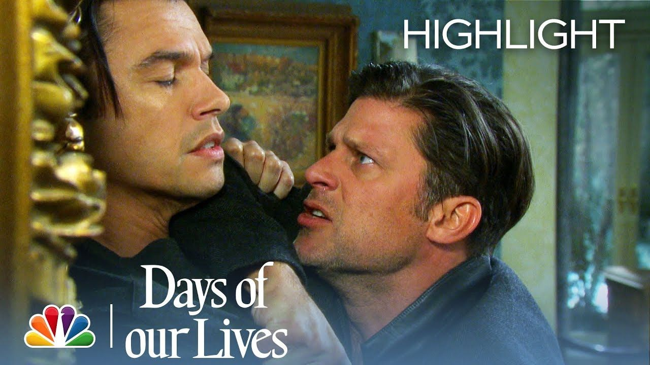 Eric Vs Xander Days Of Our Lives Episode Highlight Life Trailer Days Of Our Lives Greg Vaughan