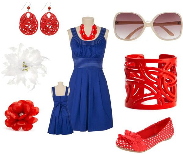 Amazing Fourth Of July Dresses Outfits For Girls 2013 4th of July