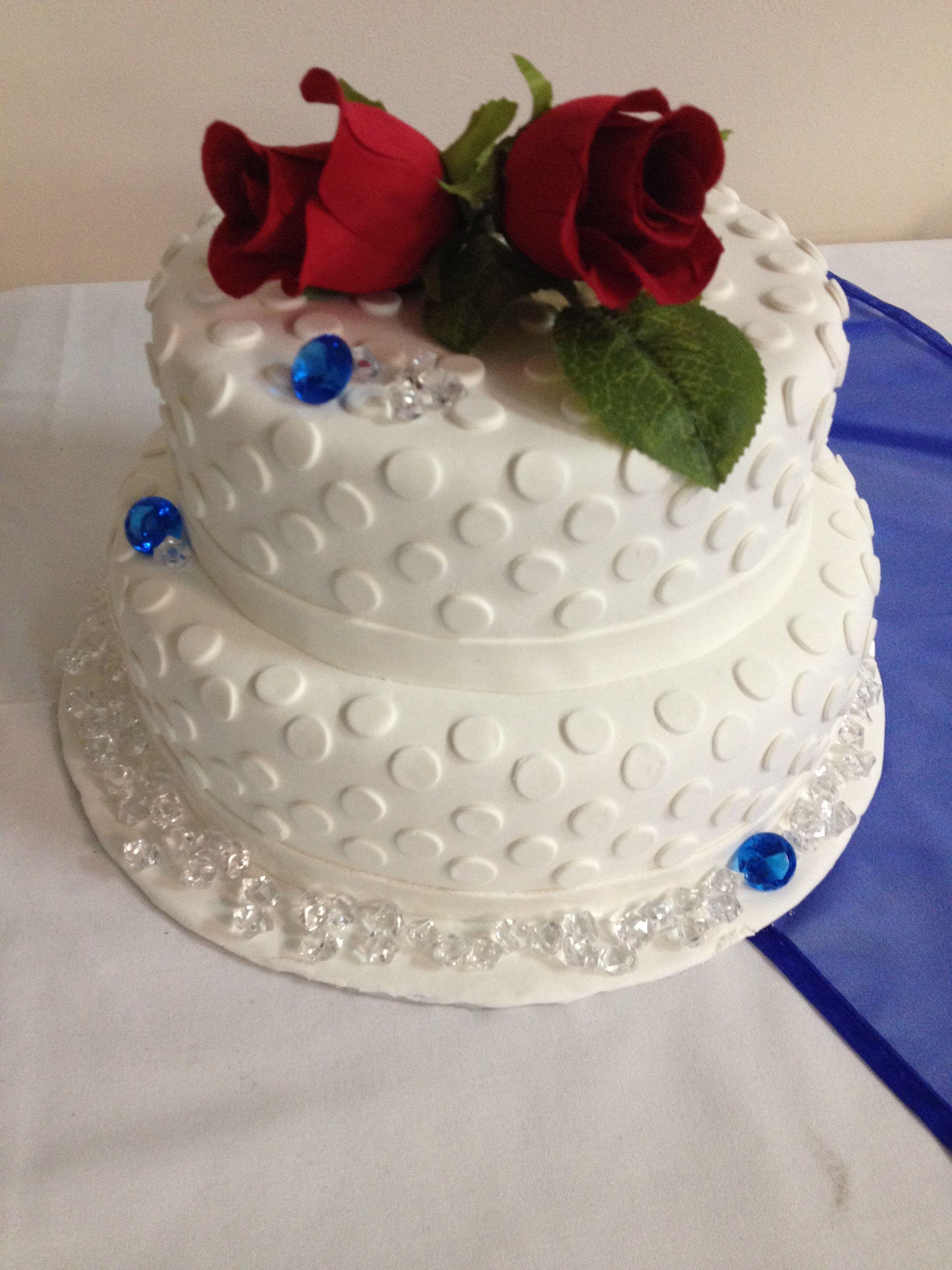cake wedding anniversary 60th 60 (avec images