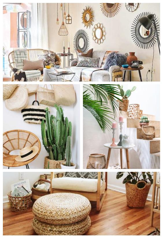 Bambou, osier, plantes : la décoration naturelle pour un retour aux sources