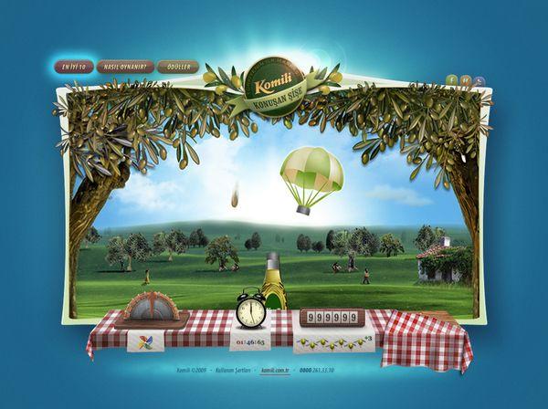 Komili Campaign Advergame by Burak Özdelice, via Behance