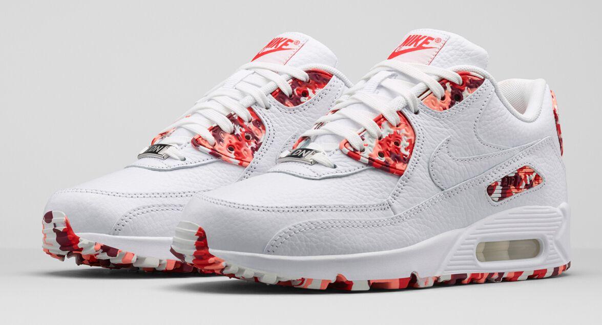 Tênis Nike Air Max 90 White London (Feminino)