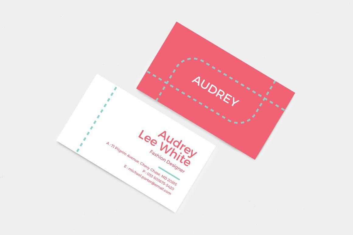 Professional And Creative Business Card Template Ai Psd