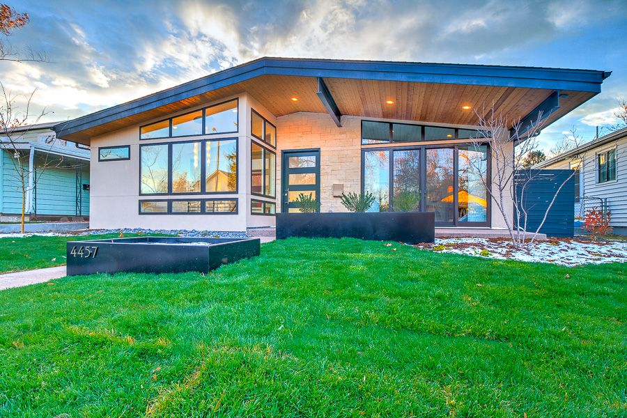 Beautiful New Mid Century Modern Home in Denver