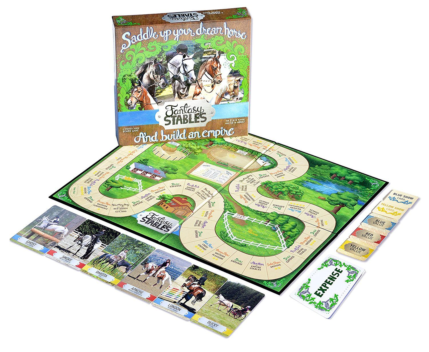 Horse games for girls horse games board games
