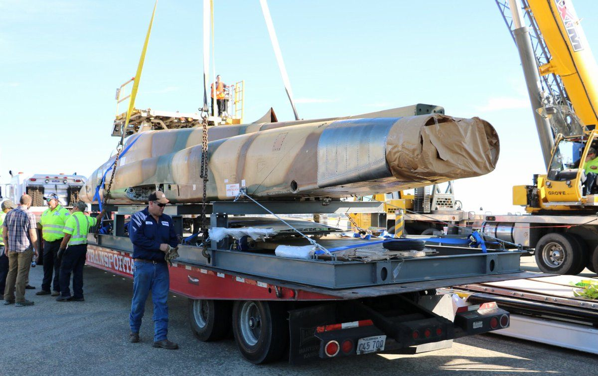 4 F5E Tiger II aircraft have been hauled from Jordan to