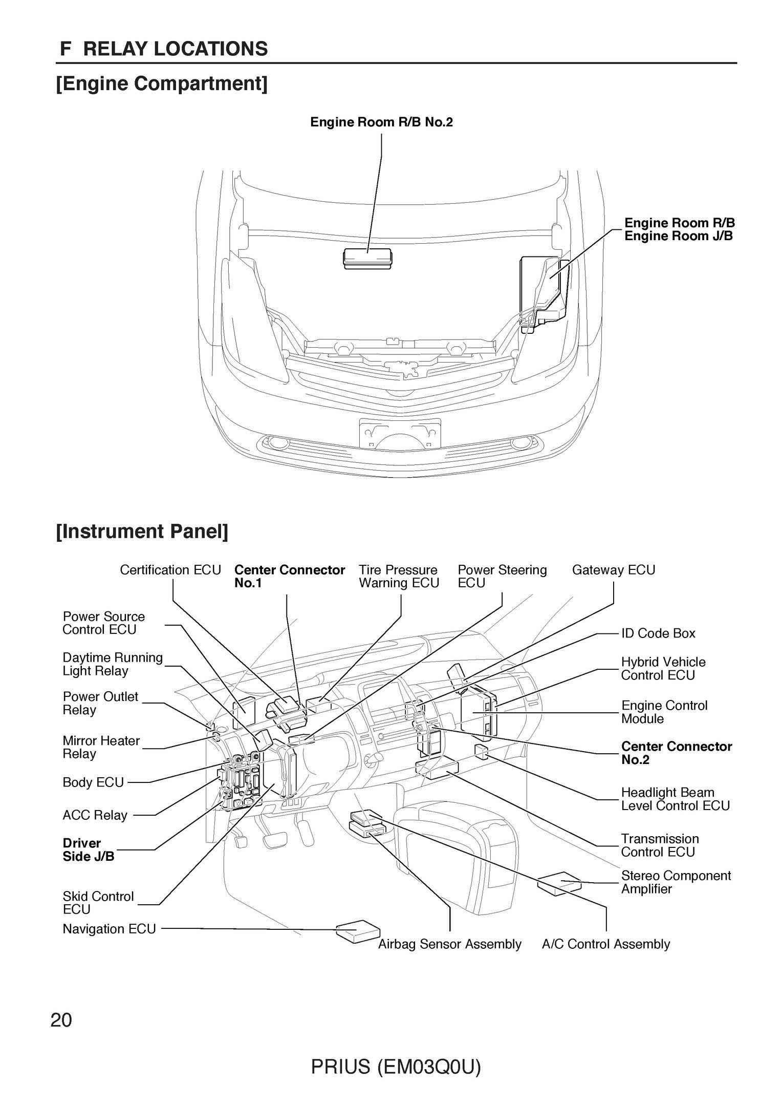 Unique Electrical Wiring Diagram Car Toyota  Diagram