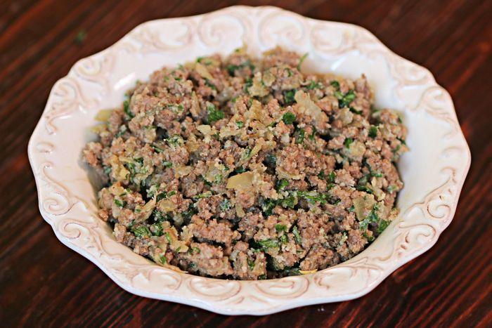 503 Kefta Filling حشوة الكفتة Cooking With Alia Cooking Basmati Rice Cooking Beets Cooking