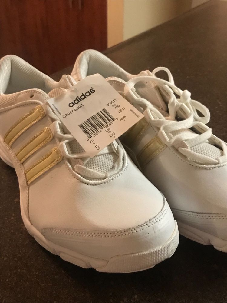 NEW Womens ADIDAS Performance Cheer Sport Tennis Shoes White- 059611 -Size  10  fashion  clothing  shoes  accessories  womensshoes  athleticshoes (ebay  link) 2dc3af93a