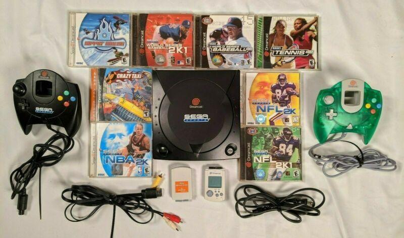 Sega Sports Dreamcast console bundle retrogaming HotDC