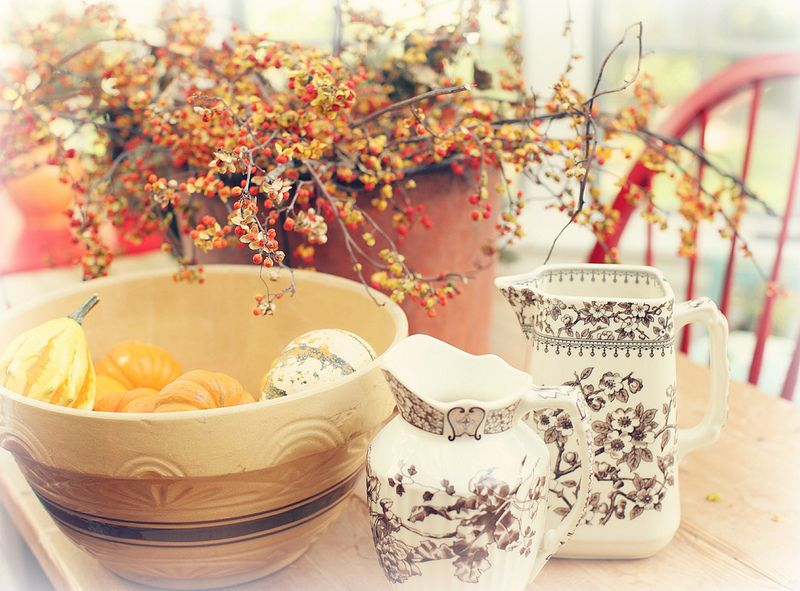 autumn table | Flickr - Photo Sharing!