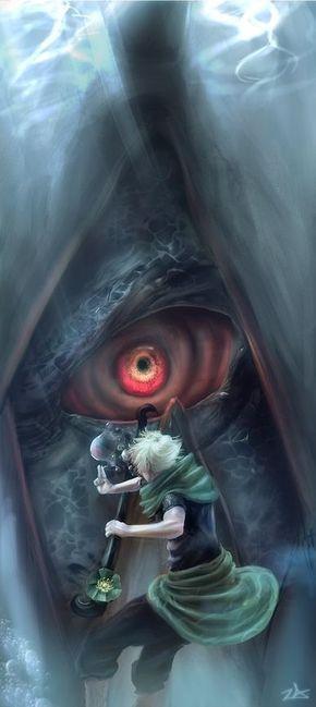 Yondaime Mizukage Yagura of the Three Tailed beast | •Naruto
