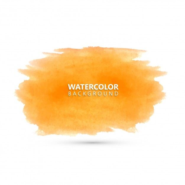 Download Yellow Watercolor Paint Brush For Free In 2020