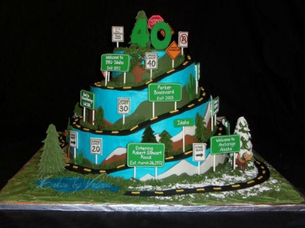 40th Birthday Husband 40th Birthday 40th Birthday Cakes