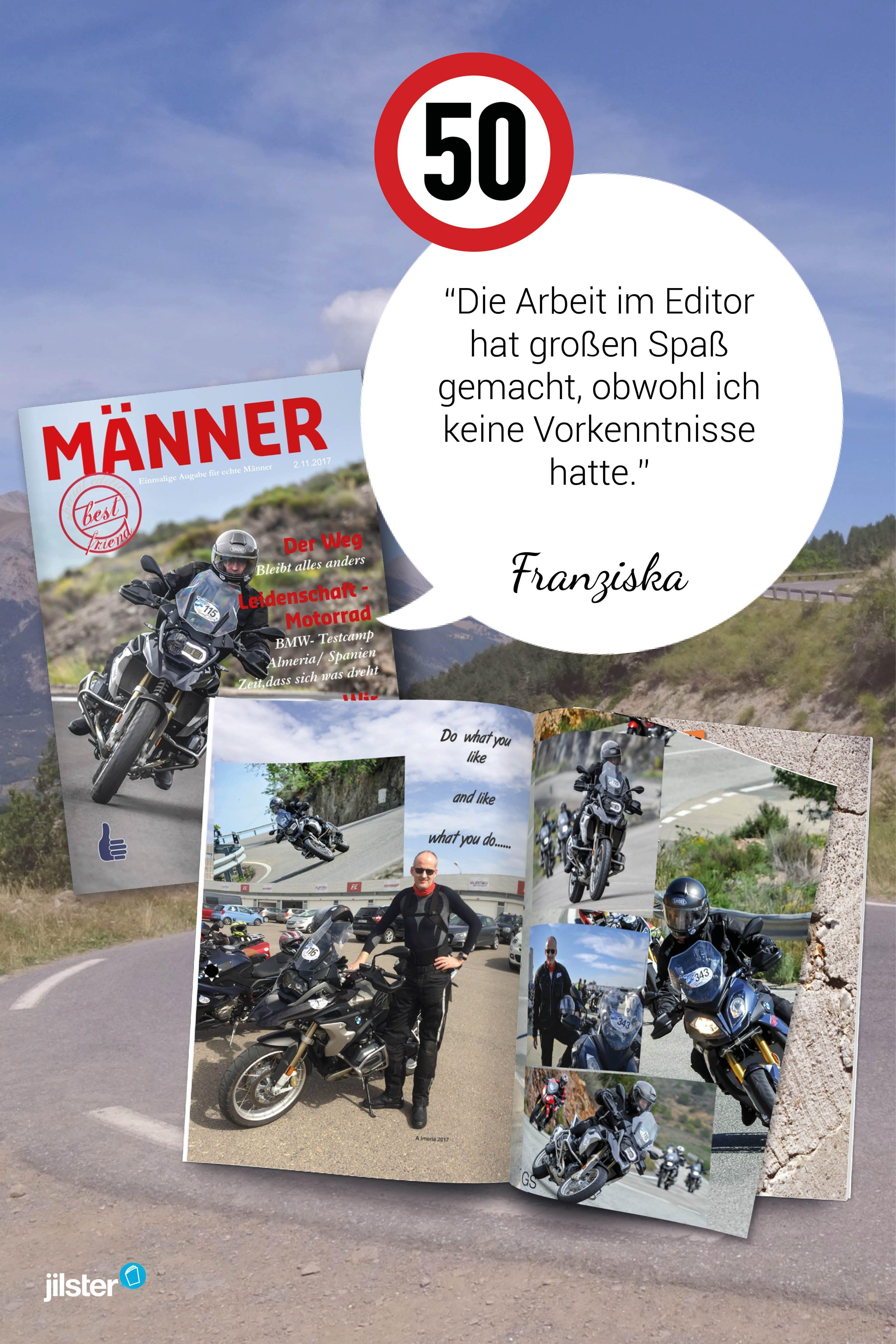 Eine Motorradzeitung Fur Franziskas Mann Jilster Kundenerfahrung