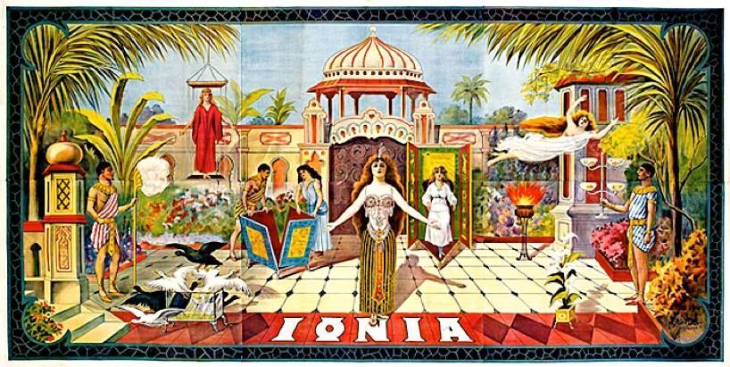 IONIA L/'enchantresse Clémentine de Vère Magician New Art Magic Poster Reprint