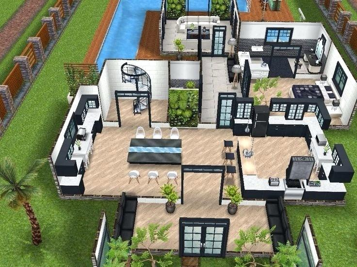The Sims House Plans Sims 4 House Plans Beautiful Best Sims House Ideas Images On Of Sims 4 2 Story House Plan Sims House Plans Sims House Sims Freeplay Houses