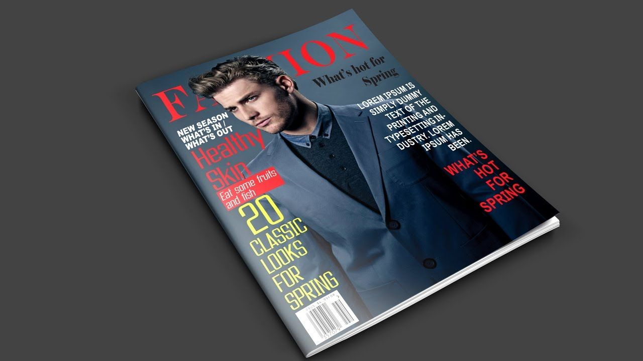 How to Create a Magazine Cover in
