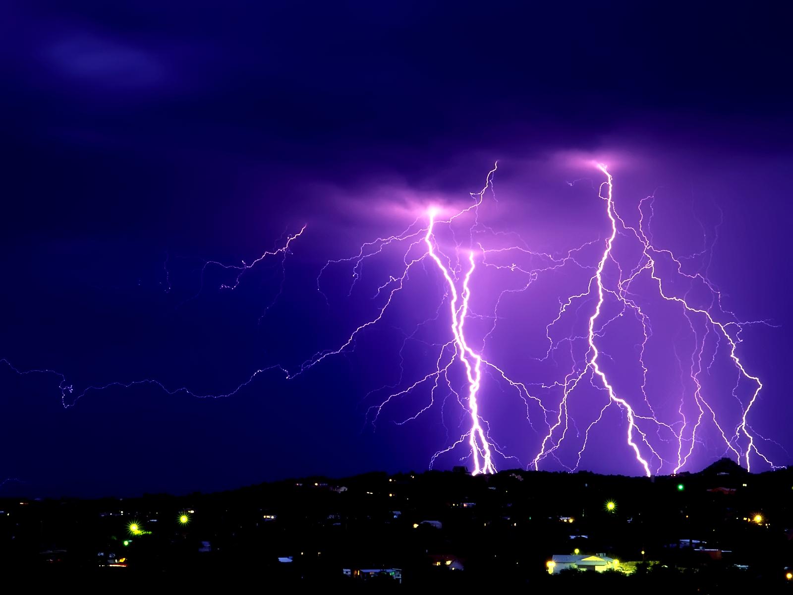 Lightning Storm Wallpaper Free Download