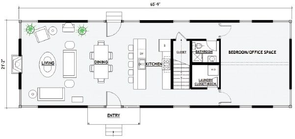 Shipping Container Home Floor Plans | NowHouse Floorplans