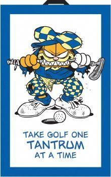 Garfield Golf Towel #golfhumor