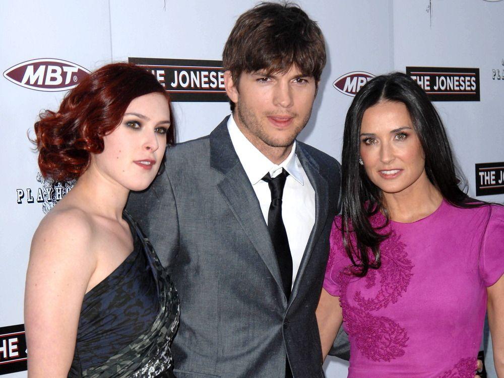 Ashton Kutcher Uber Demi Moores Tochter Ich Werde Sie Immer Lieben Trend Magazin Demi Moore Ex Frau Bruce Willis