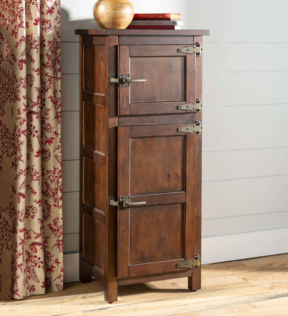 Our Portland Ice Box Storage Cabinet Makes A Gorgeous Storage Solution Anywhere In The Home This Stu Jelly Cabinet Family Room Furniture Small Storage Shelves